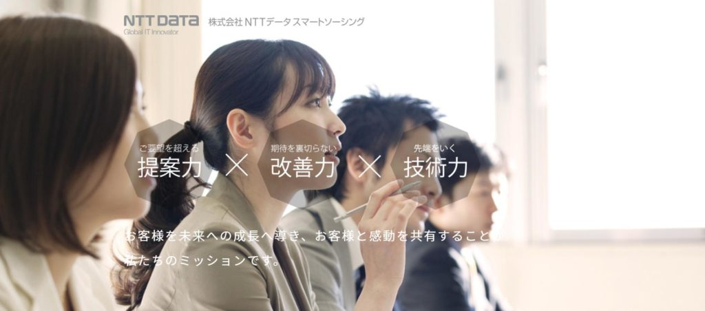 HOME4U運営会社の「NTTデータ・スマートソーシング」実態と評判